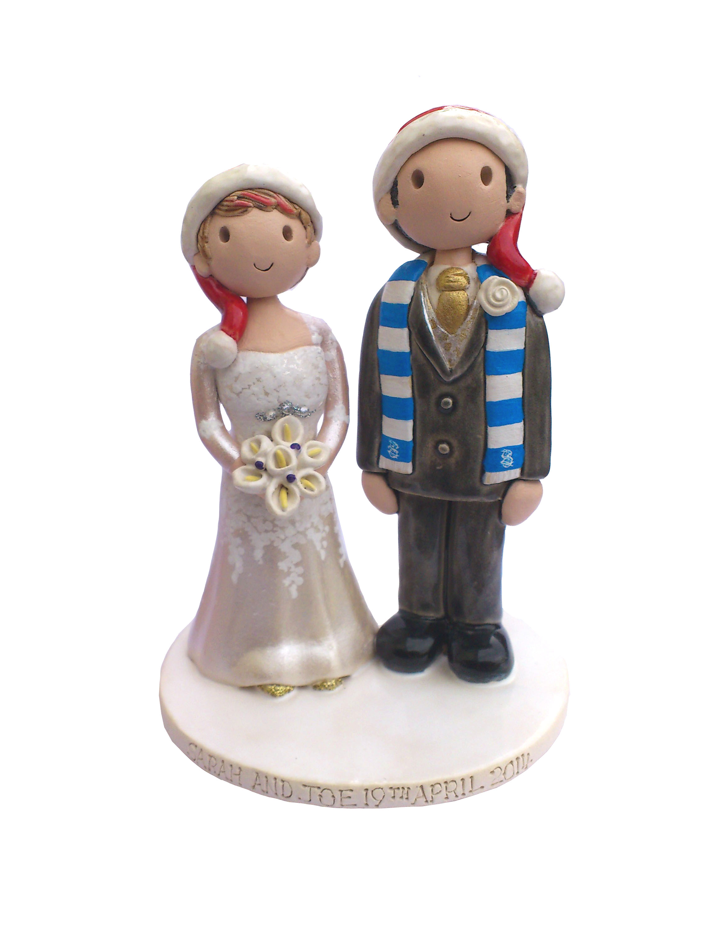 christmas wedding cake toppers uk wedding cake toppers gallery examples of toppers we 12844
