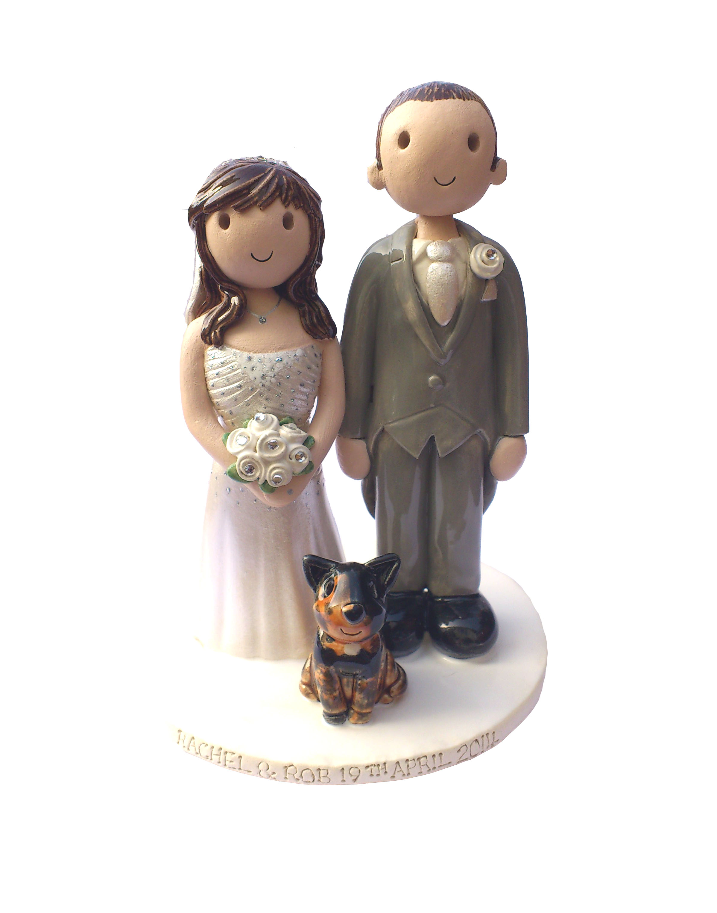 uk wedding cake toppers wedding cake toppers gallery made personalised cake 21410