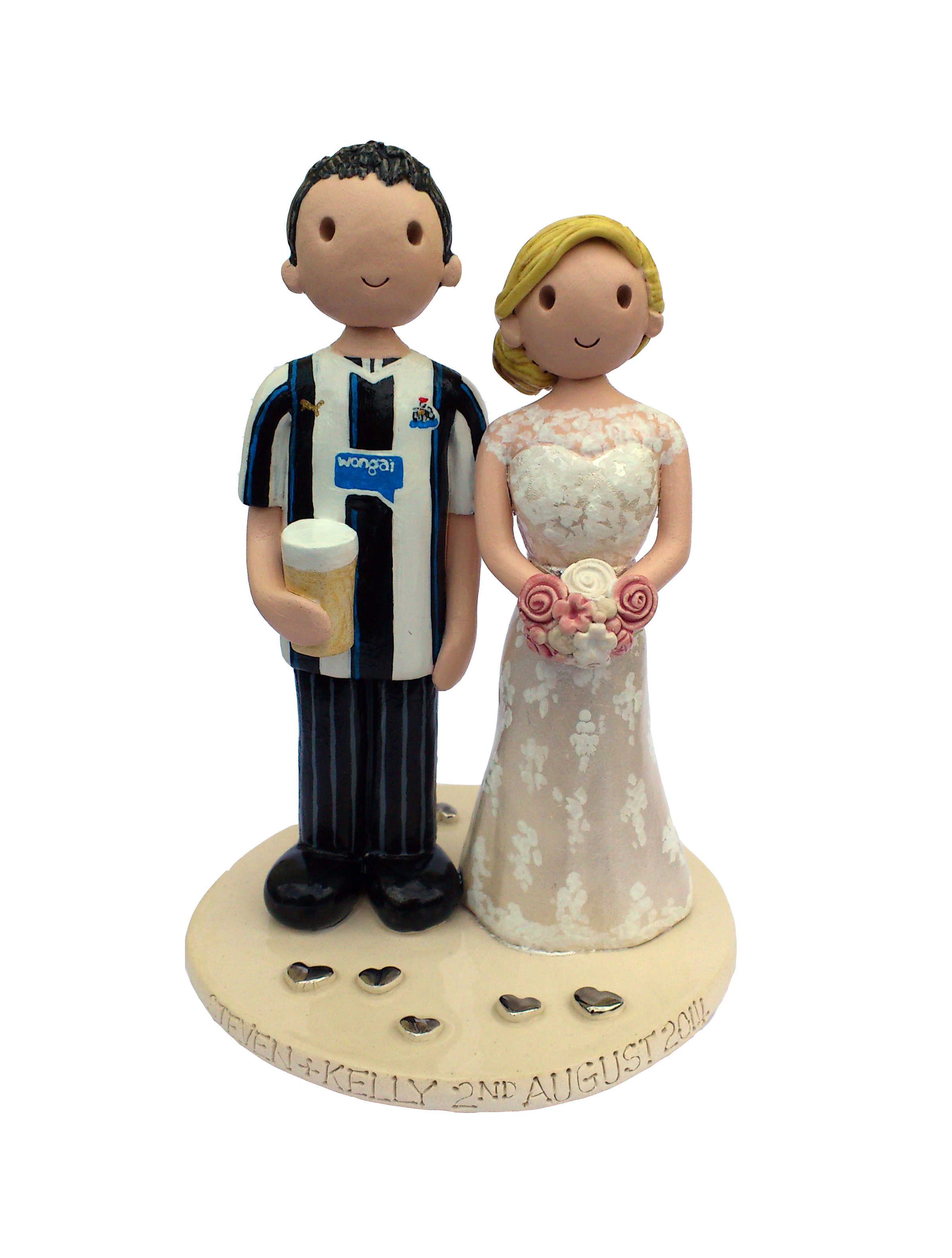 wedding cake topper uk only wedding cake toppers gallery made personalised cake 26648