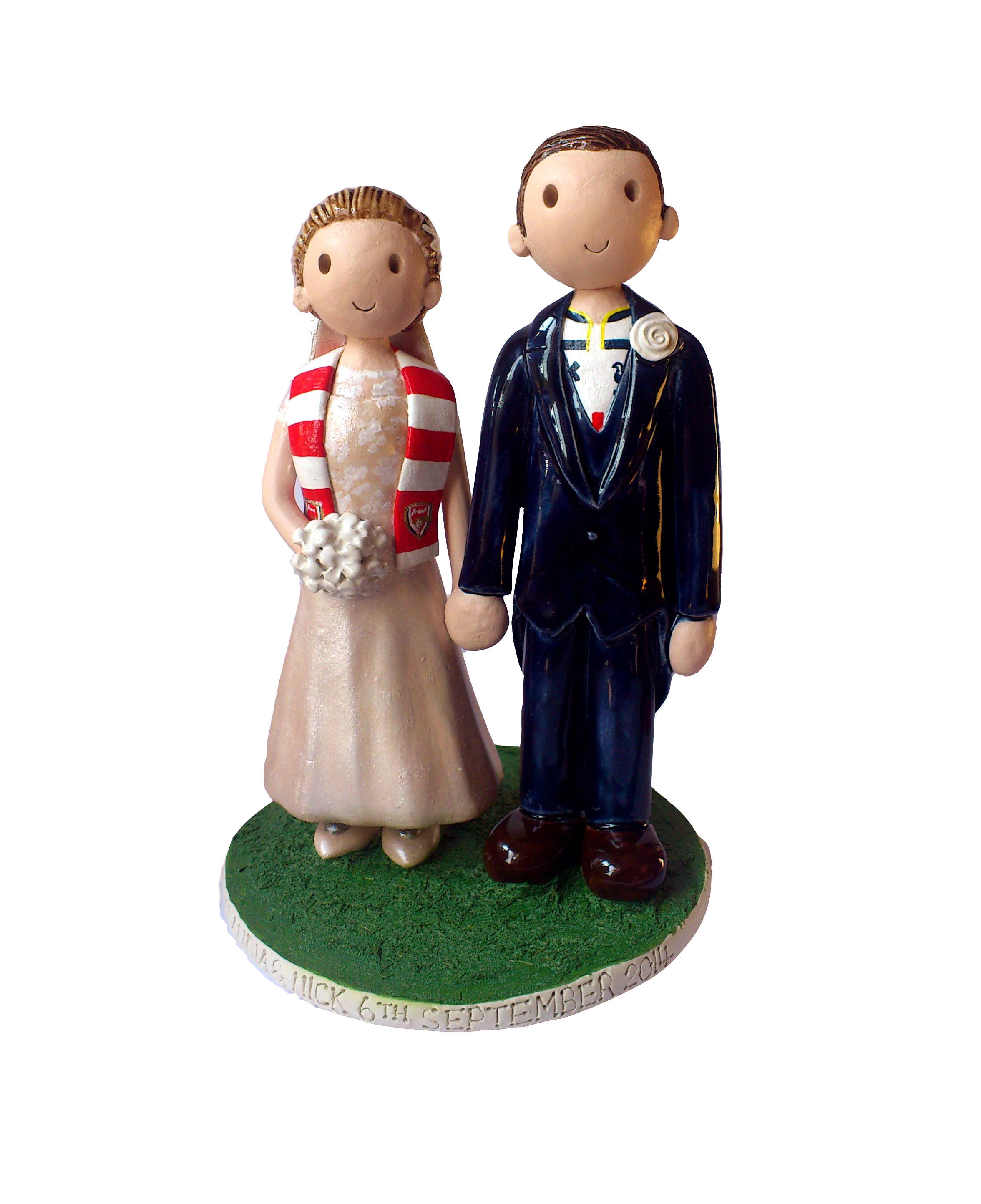 make wedding cake topper wedding cake toppers gallery examples of toppers we 17006