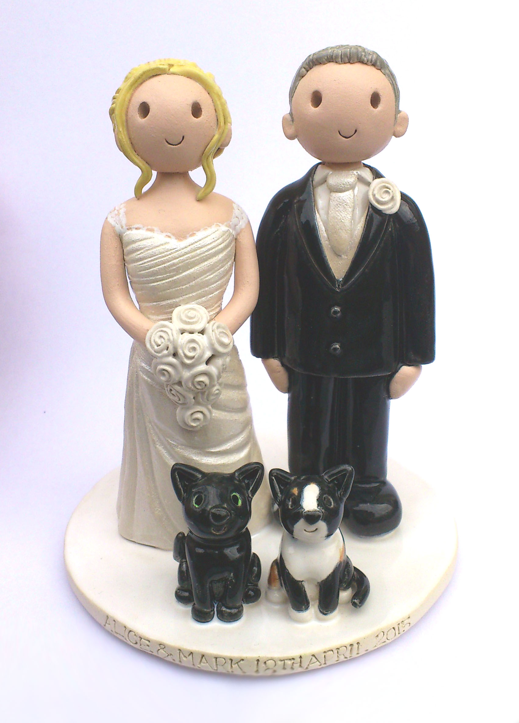 cat wedding cake toppers uk wedding cake toppers gallery examples of toppers we 12462
