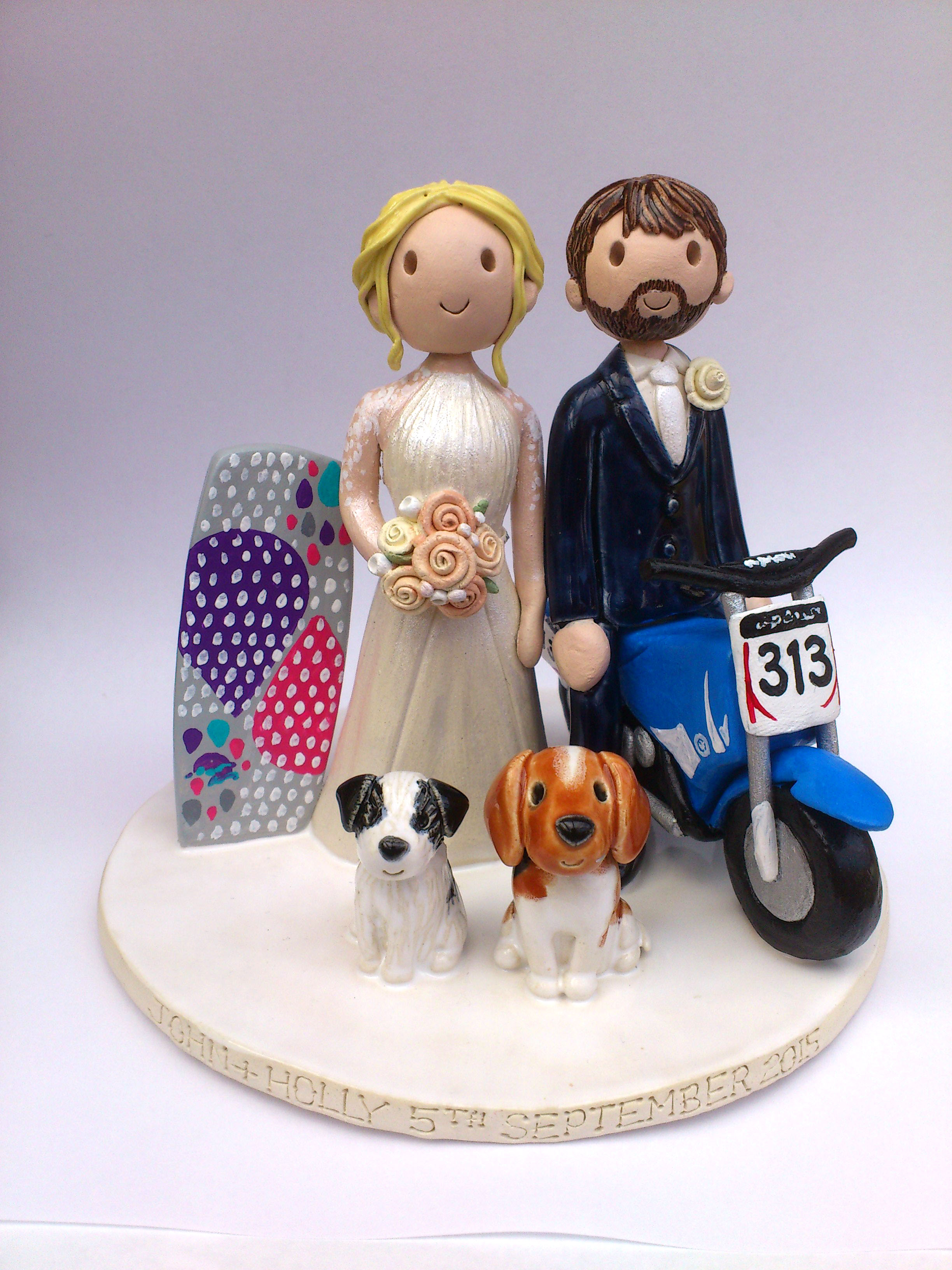make wedding cake topper wedding cake toppers gallery made personalised cake 17006