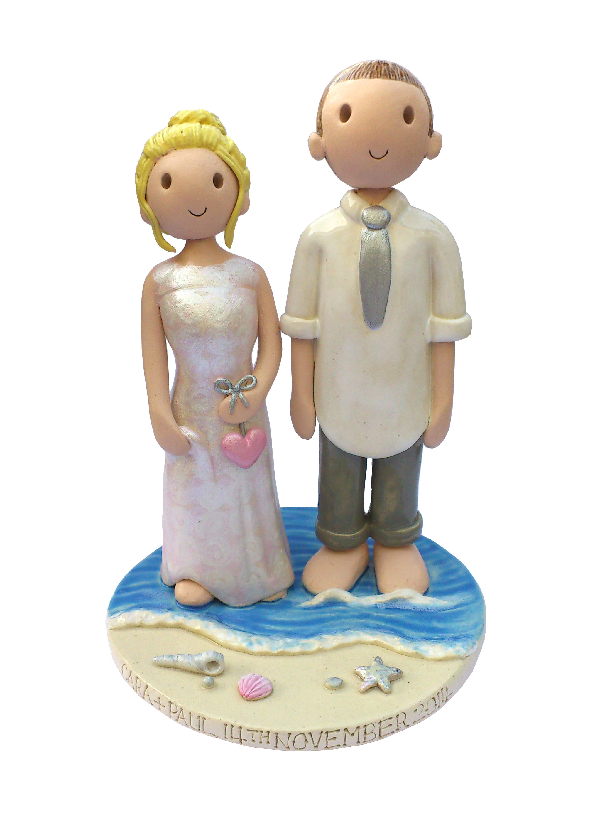 beach cake toppers wedding cake toppers gallery examples of toppers we 1533