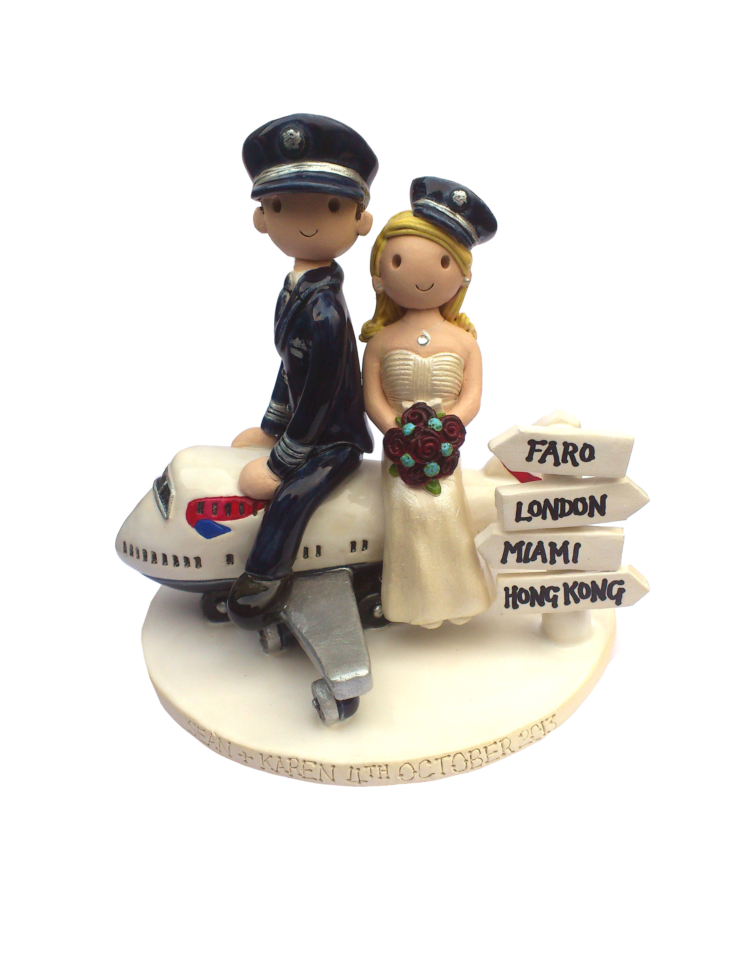 wedding cake figures uk wedding cake toppers gallery examples of toppers we 22609