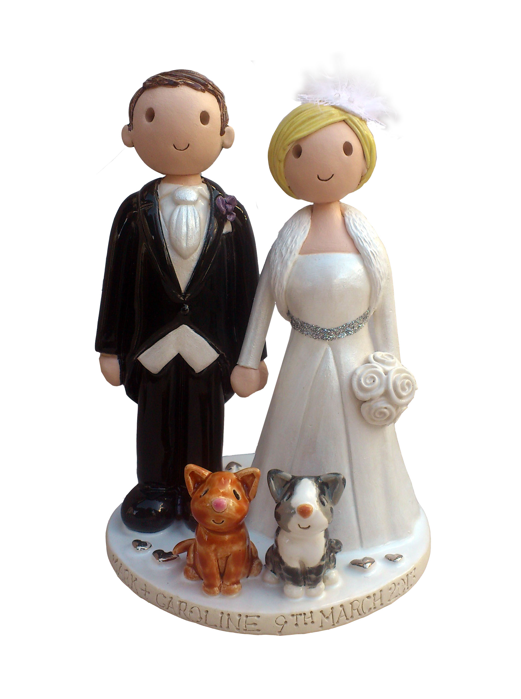 personalised wedding cake toppers uk only ok wedding 18257