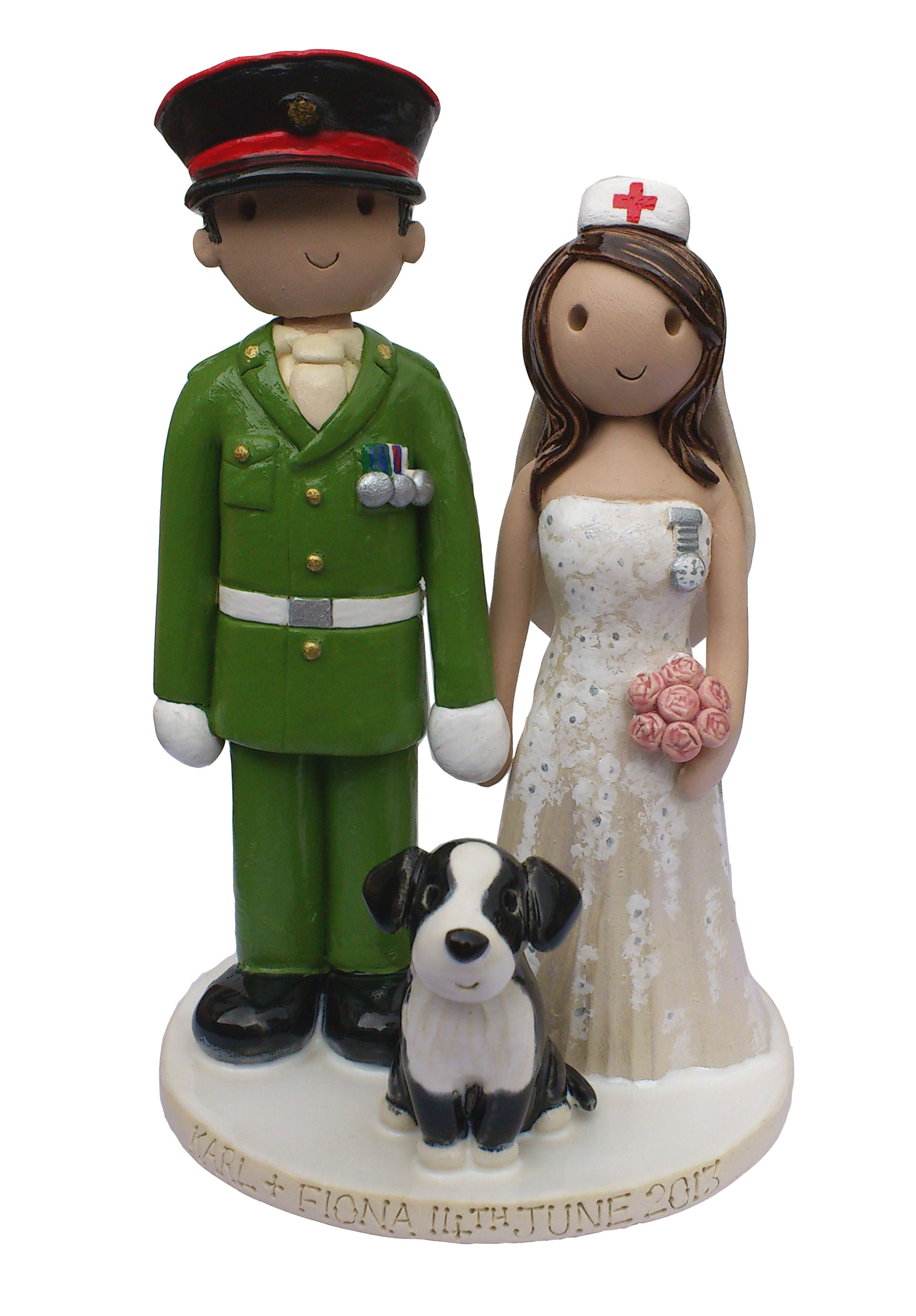Polymer Clay Cake Toppers Safe