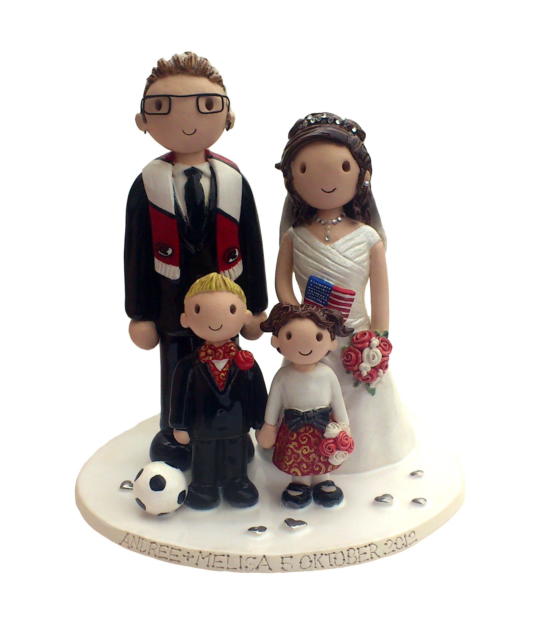 family wedding cake toppers uk wedding cake toppers gallery examples of toppers we 14186