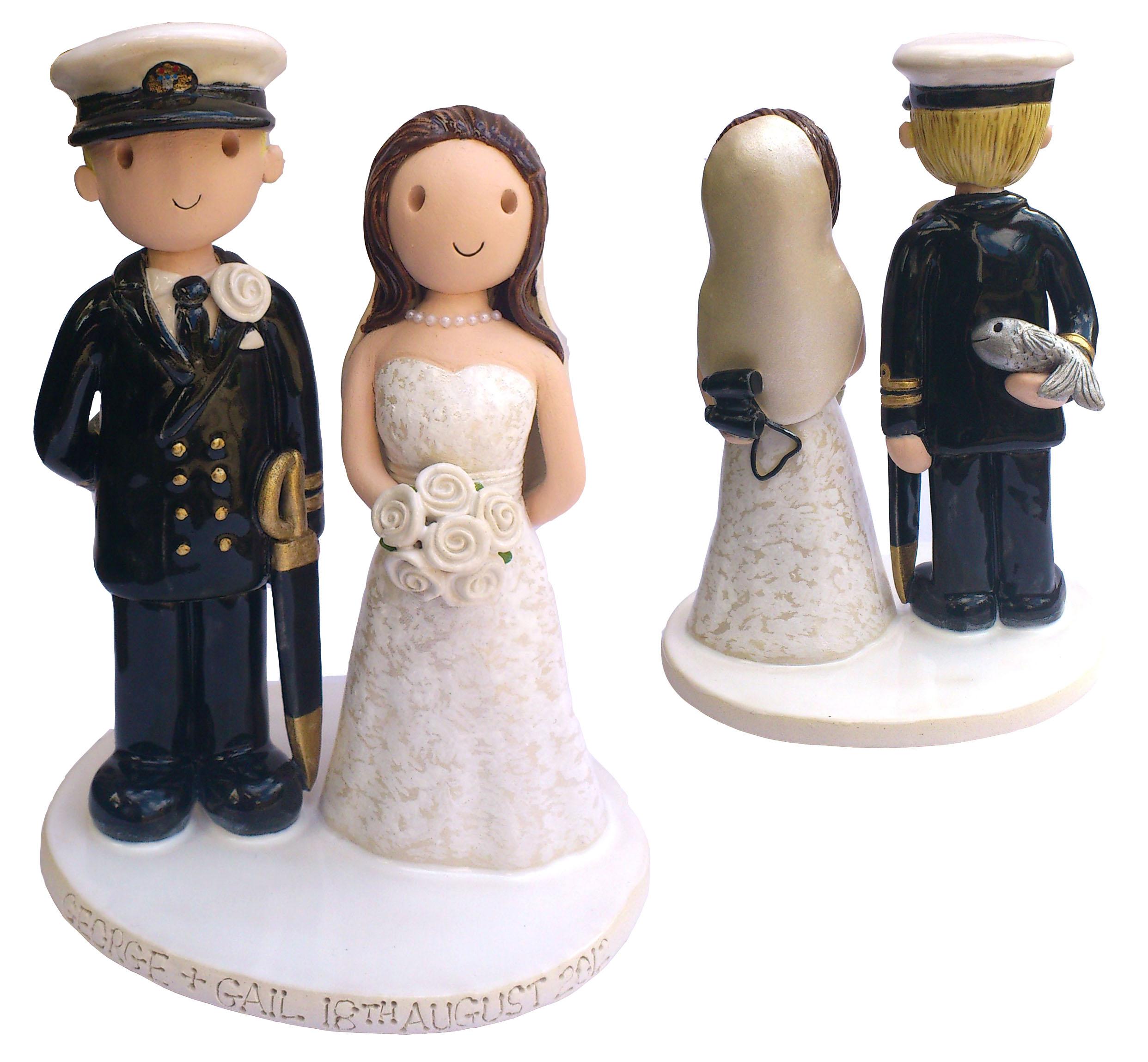 Wedding Cake Topper Fimo