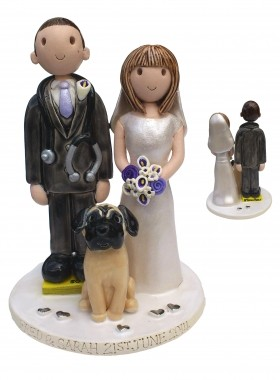Dog Wedding Topper