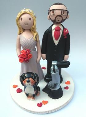 Robot wedding topper