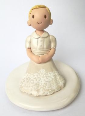 Christening cake top