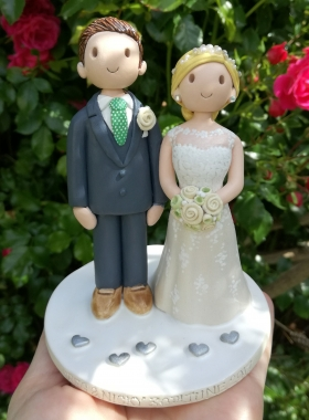 Personalised wedding topper