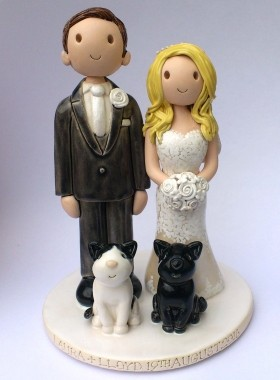 Cats cake topper