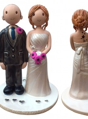 Tattoo Cake Topper