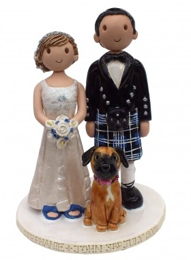 Scottish Wedding Topper