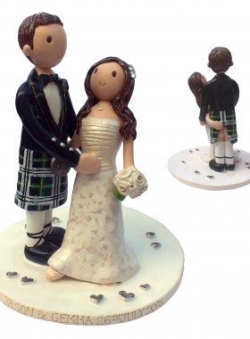Dancing Cheeky Cake Topper