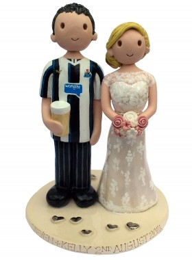 Newcastle Football Wedding Topper
