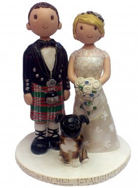 Bride And Groom For Wedding Cake