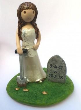 Divorce Cake Topper