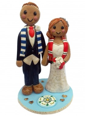 Gingerbread Wedding Topper