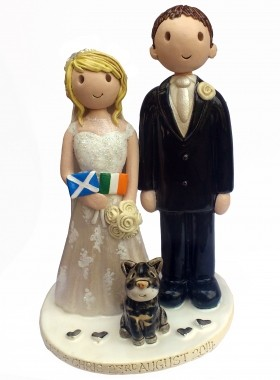 Flag Wedding Topper