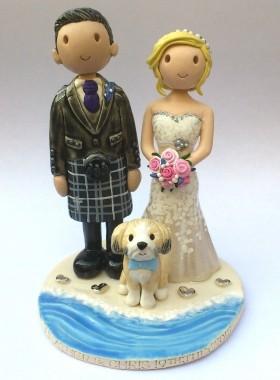 Beach Wedding Topper