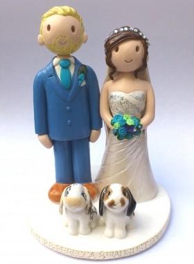 Rabbit Wedding Topper