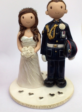 Teacher Wedding Cake Topper