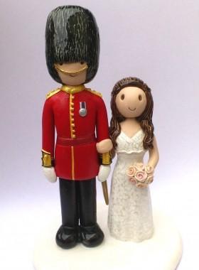 Royal Guard Cake Topper