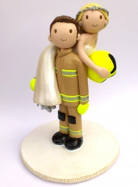 Fireman Cake Topper