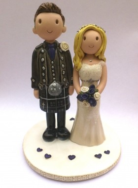 Scottish Cake Topper