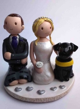Guide dog topper