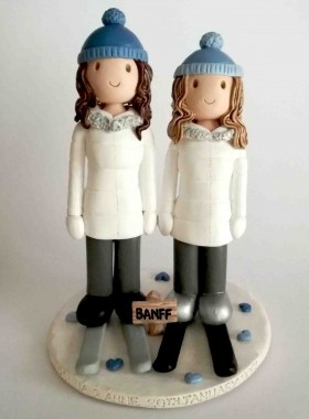 ski wedding cake toppers uk wedding cake toppers gallery examples of toppers we 20181