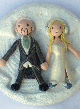 Snow Angel Cake Topper