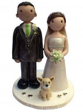 Chihuahua Wedding Cake