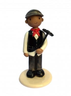 Chimney Sweep Cake Topper