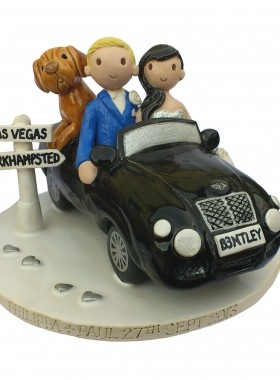 Bentley Wedding Cake