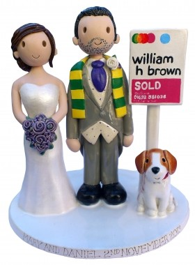 Estate Agent Cake Topper