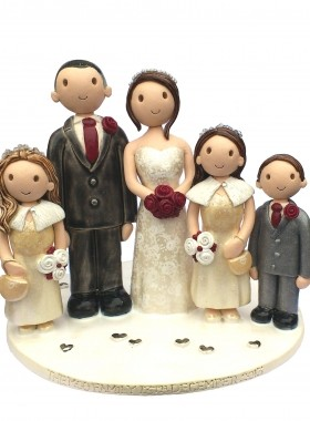 Family Wedding Topper