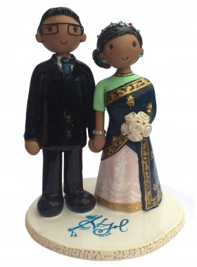 Indian Cake Topper