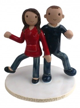Dancer Cake Topper