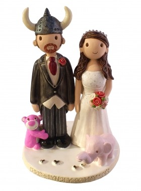 Viking Cake Topper