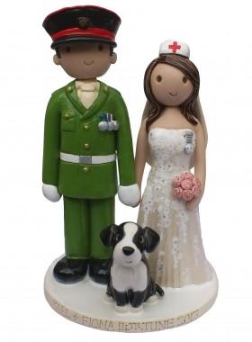 Forces Wedding Cake
