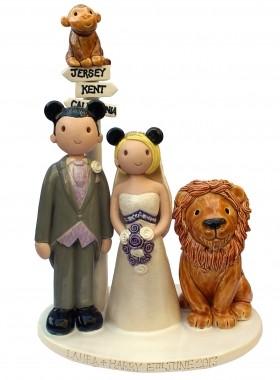 Animal Wedding Cake
