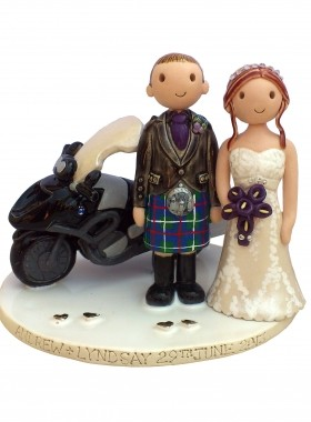 Motorbike Cake Topper
