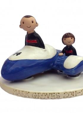 Sidecar Cake Topper