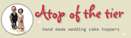 Atop Of The Tier - Handmade, Personalised Wedding Cake Toppers